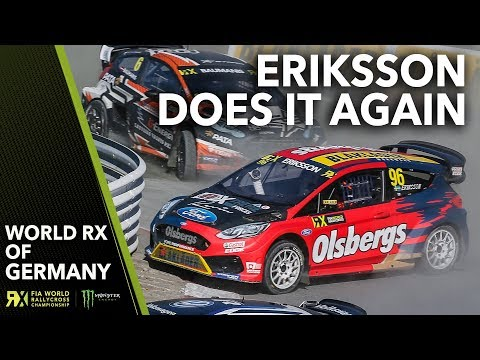 Kevin Eriksson Goes Around the Outside AGAIN! | 2018 World Rallycross of Germany