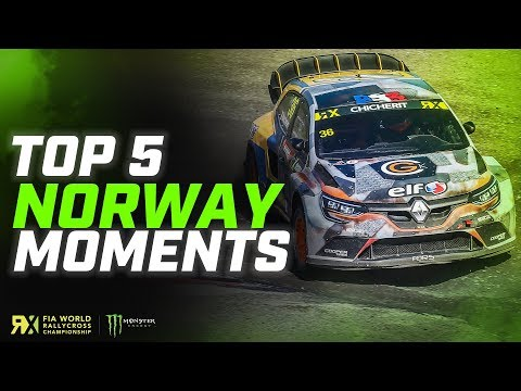 The Top 5 BIGGEST Moments of Norway! | FIA World Rallycross