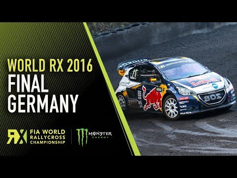 2016 Germany RX Final Highlights from Estering - World RX Rallycross
