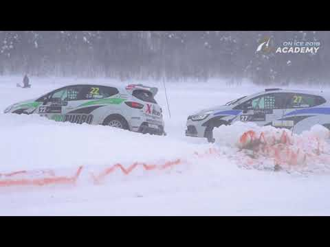 RX Academy on Ice round 3 at Ål in Norway