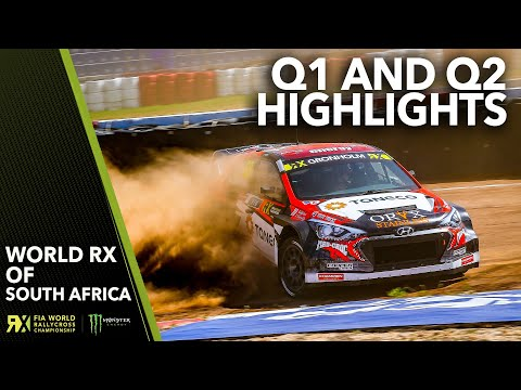 Qualifying 1 & 2 Highlights | 2019 SABAT World RX of South Africa