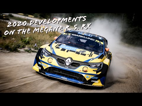 2020 Developments on the GCK Mégane R.S. RX