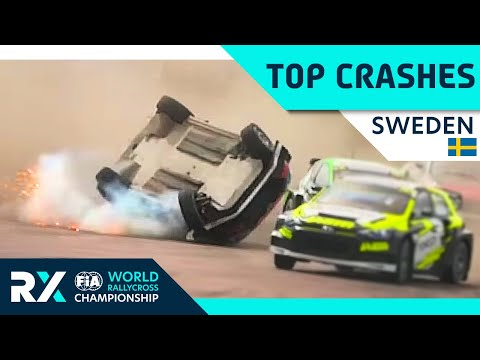 The Top 5 BIGGEST Moments of Sweden! | FIA World Rallycross