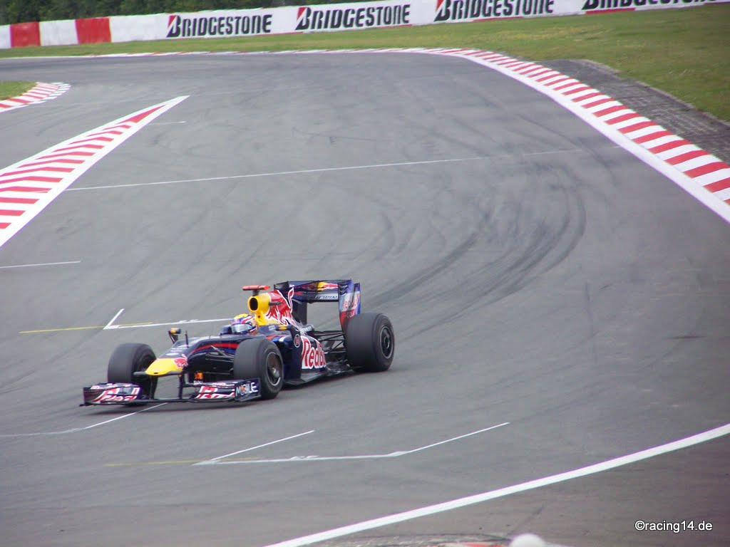 Mark Webber RedBull 2009
