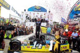 Tony Stewart - Smoke Victory Lane