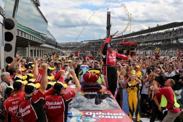 Ryan Newman wins at the Brickyard
