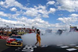 Kyle Busch Victory Lane at the Glen