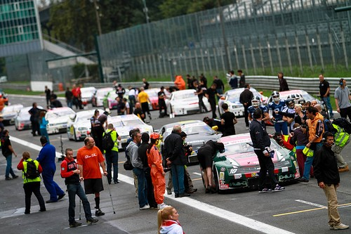 Starting Grid for the 2nd OPEN Race
