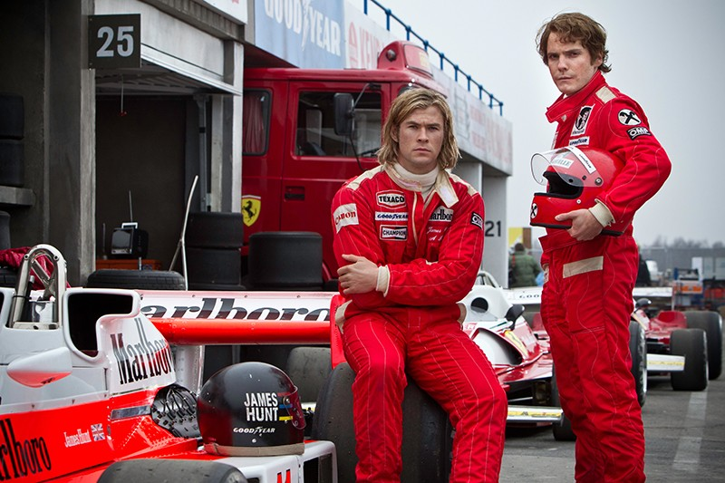 NIki Lauda, James Hunt - RUSH