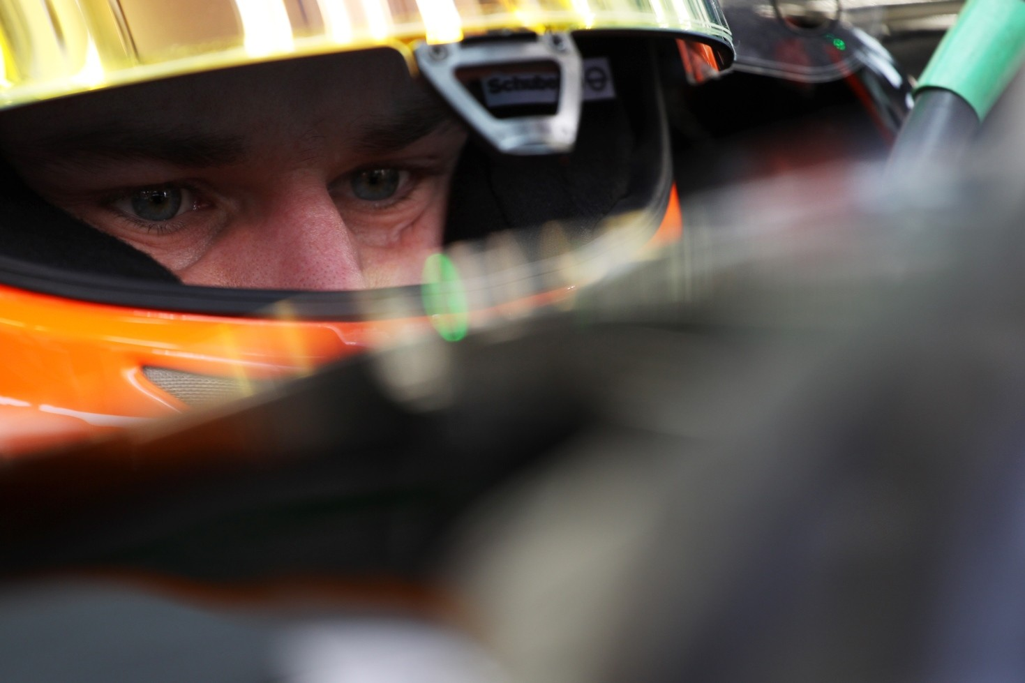 Close UP Hulkenberg