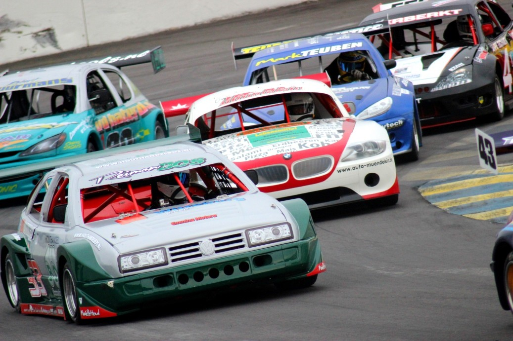 National Hot Rods - Race Action