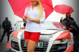 Grid Girl Audi C.Abt