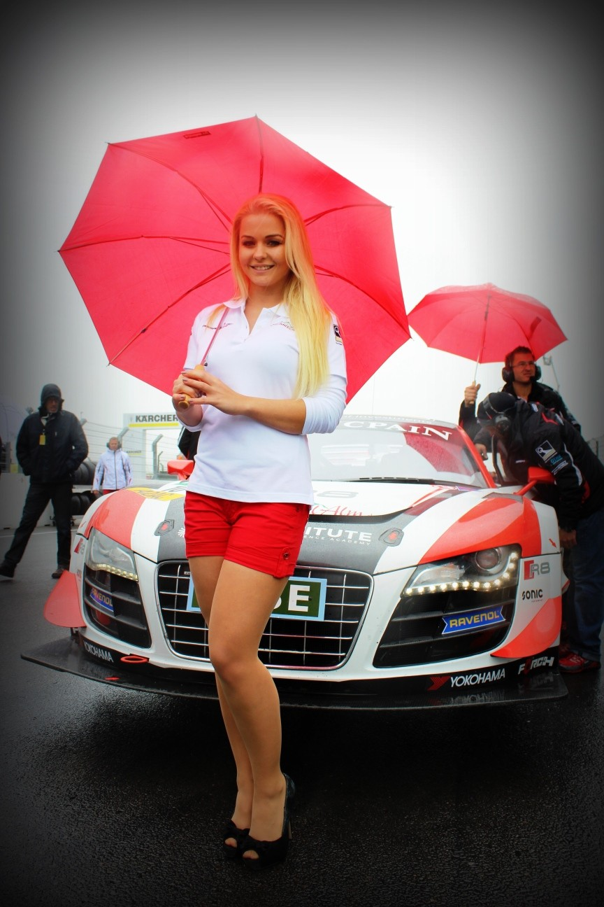 Grid Girl Audi C.Abt Racing