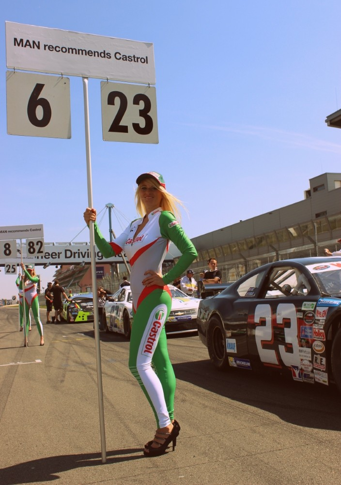 NWES Whelen Euro Truck GP Grid Girl