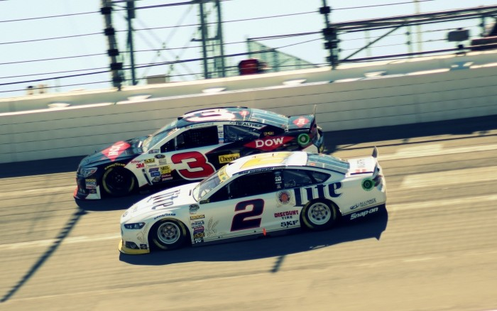 #2 and #3 - Keselowski-Dillon
