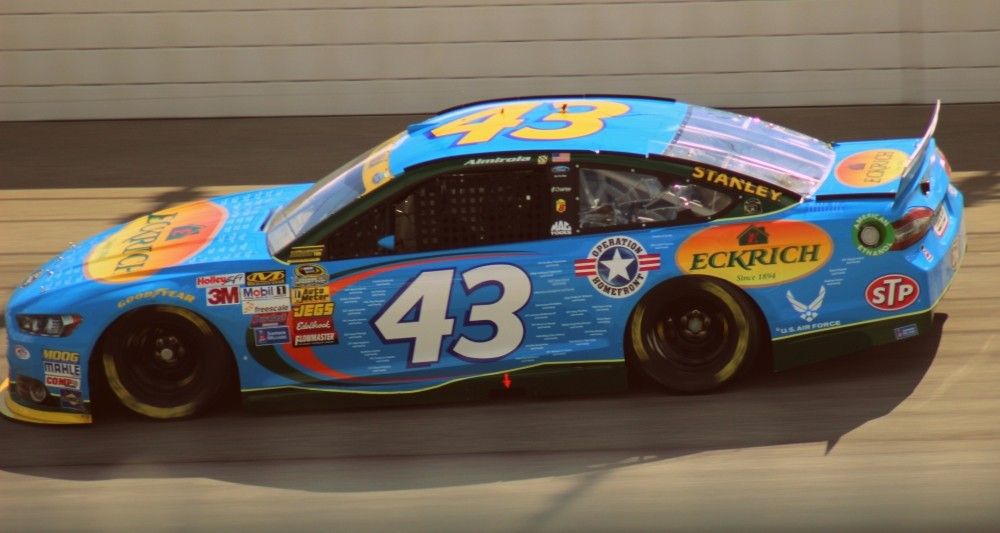 SprintCup Almirola-Petty Ford #43