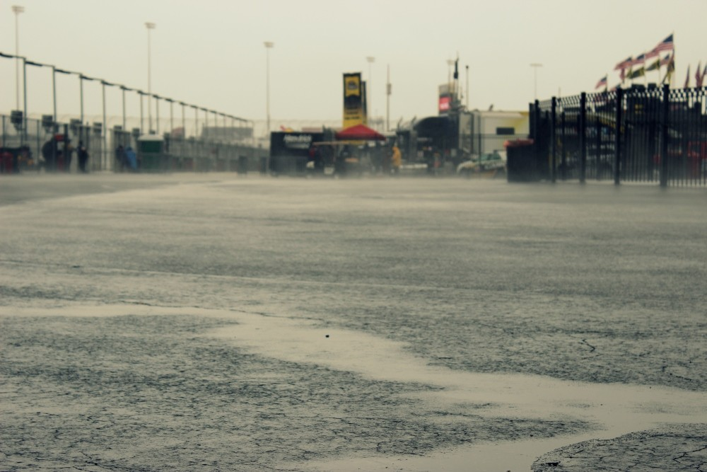 """""""Rained Out"""" at Chicagoland"""