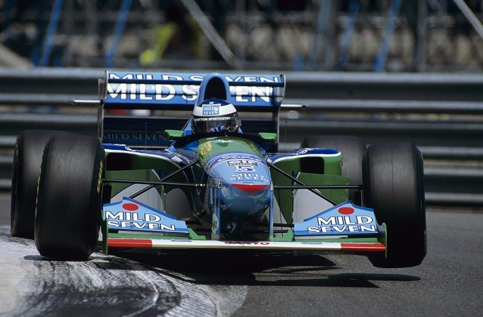 Michael SchumacherGP Monaco 1994 - Benetton-Ford