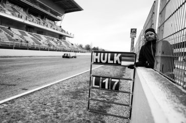 THe Hulk - Barcelona F1 Tests