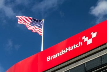 Brands Hatch American Flag