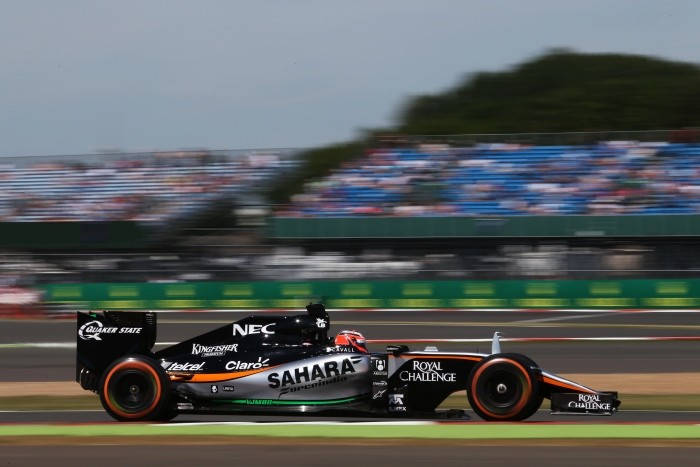 Force India Hulkenberg BritishGP