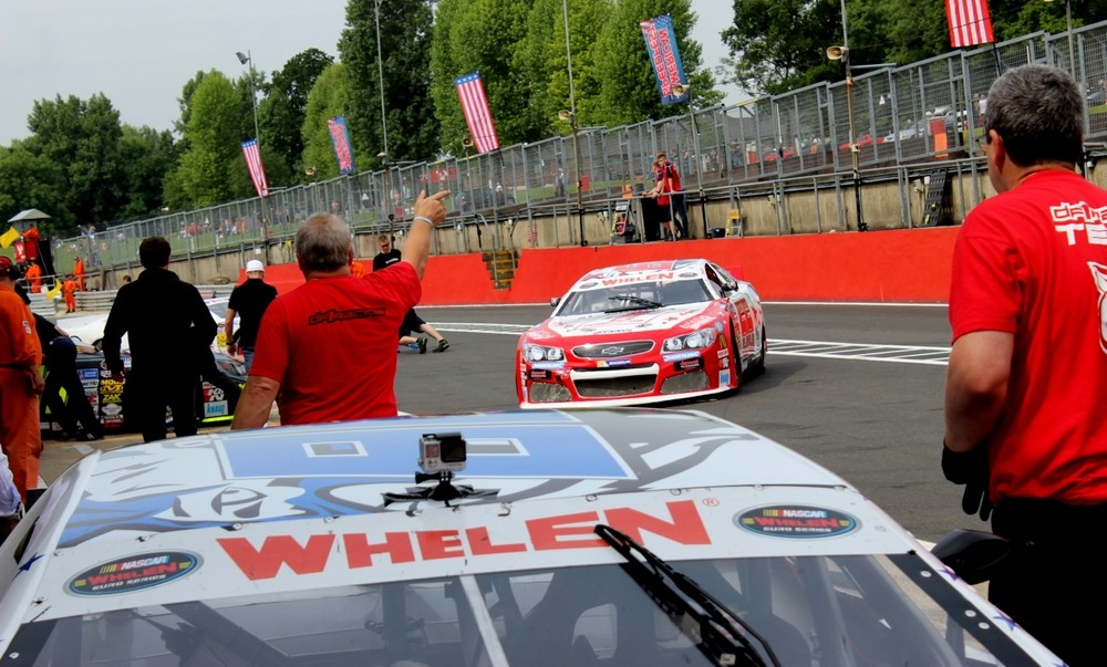 Pitlane Brands Hatch EuroNascar