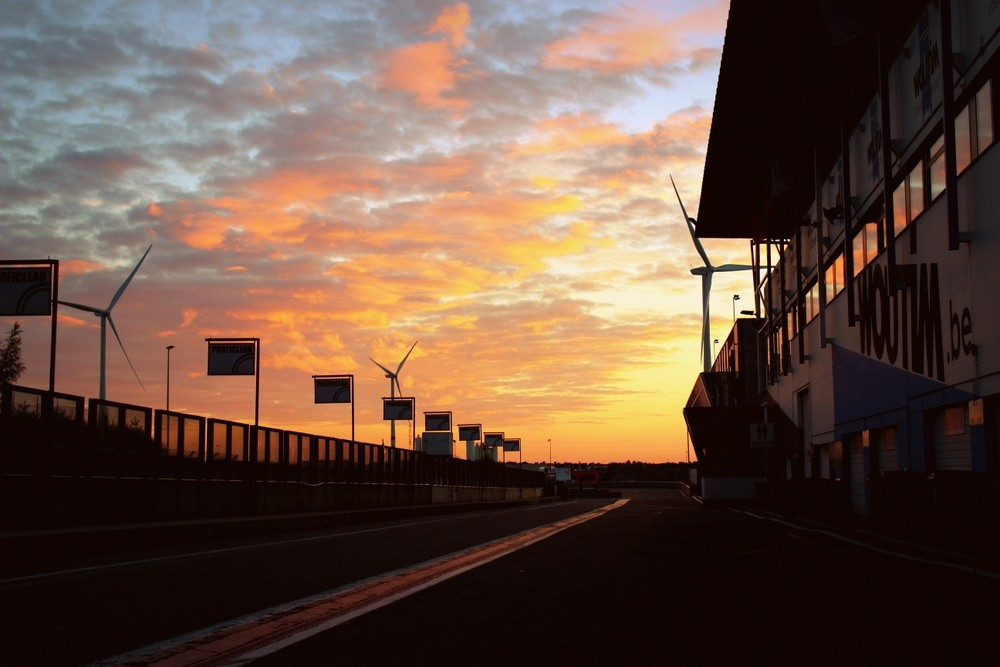 Circuit Zolder Sunset