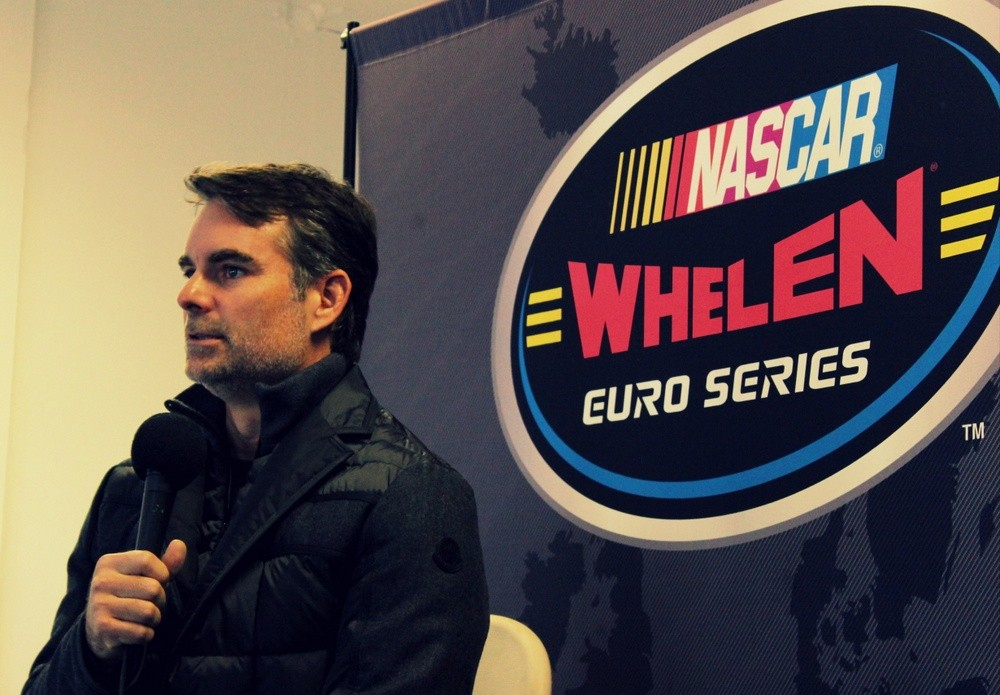 Gast in Zolder: Jeff Gordon