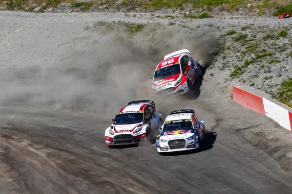 Norwegen Rallycross World RX Hell