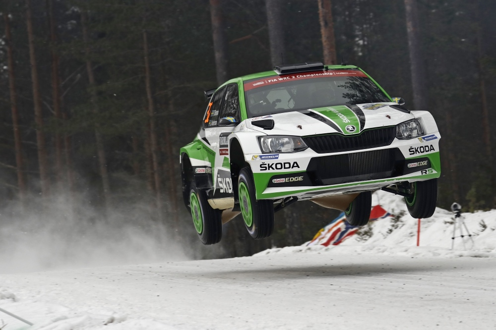 WRC2 Pontus Tidemand