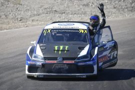 Johan Kristoffersson VW Polo Supercar