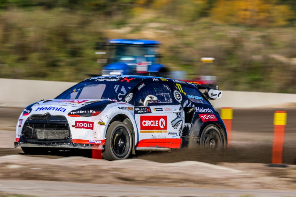 Oliver Solberg RallyX