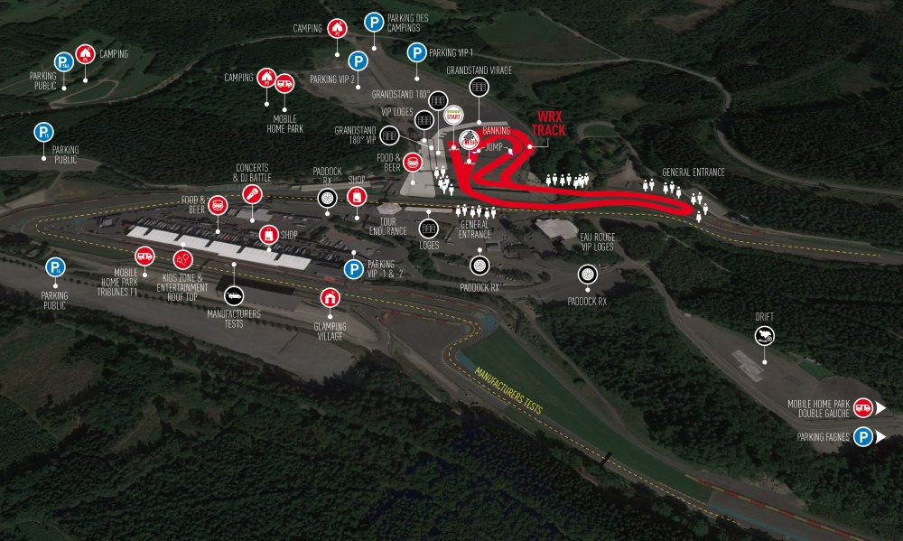 WorldRX Spa  - Rallycross WM Spa Francorchmamps