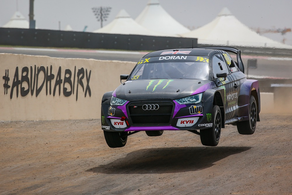 Monster Energy RX Cartel Audi S1 quattro Supercar - Liam Doran