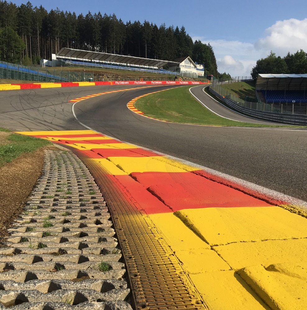 Rallycross Spa WorldRX Spa Eau Rouge