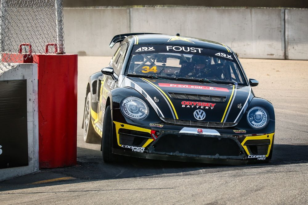 Tanner Foust VW Bettle
