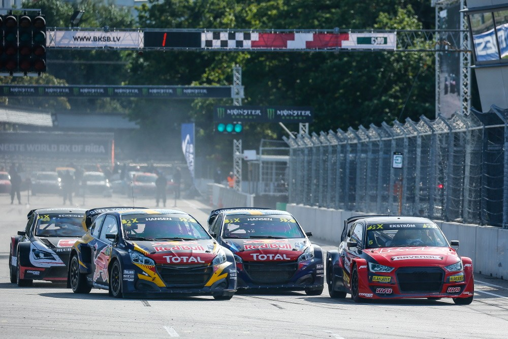 WorldRX Riga Tag 1